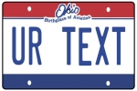 Personalised Ohio License Plate