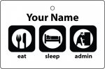 Personalised Eat Sleep Admin