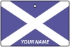 Personalised Scotland Flag