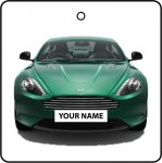 Your Name Green Aston Martin DB9