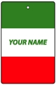 Personalised Italy Flag