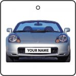 Your Name Silver Toyota MR2