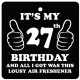 27th Birthday Lousy