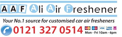 Ali Air Freshener: Your No.1 source for customised car air fresheners.