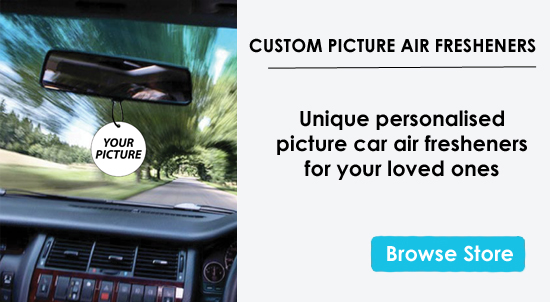 Personalized Street Signs >> Customised Car Air Fresheners: Custom & Novelty Air Freshener Personalised With Your Message